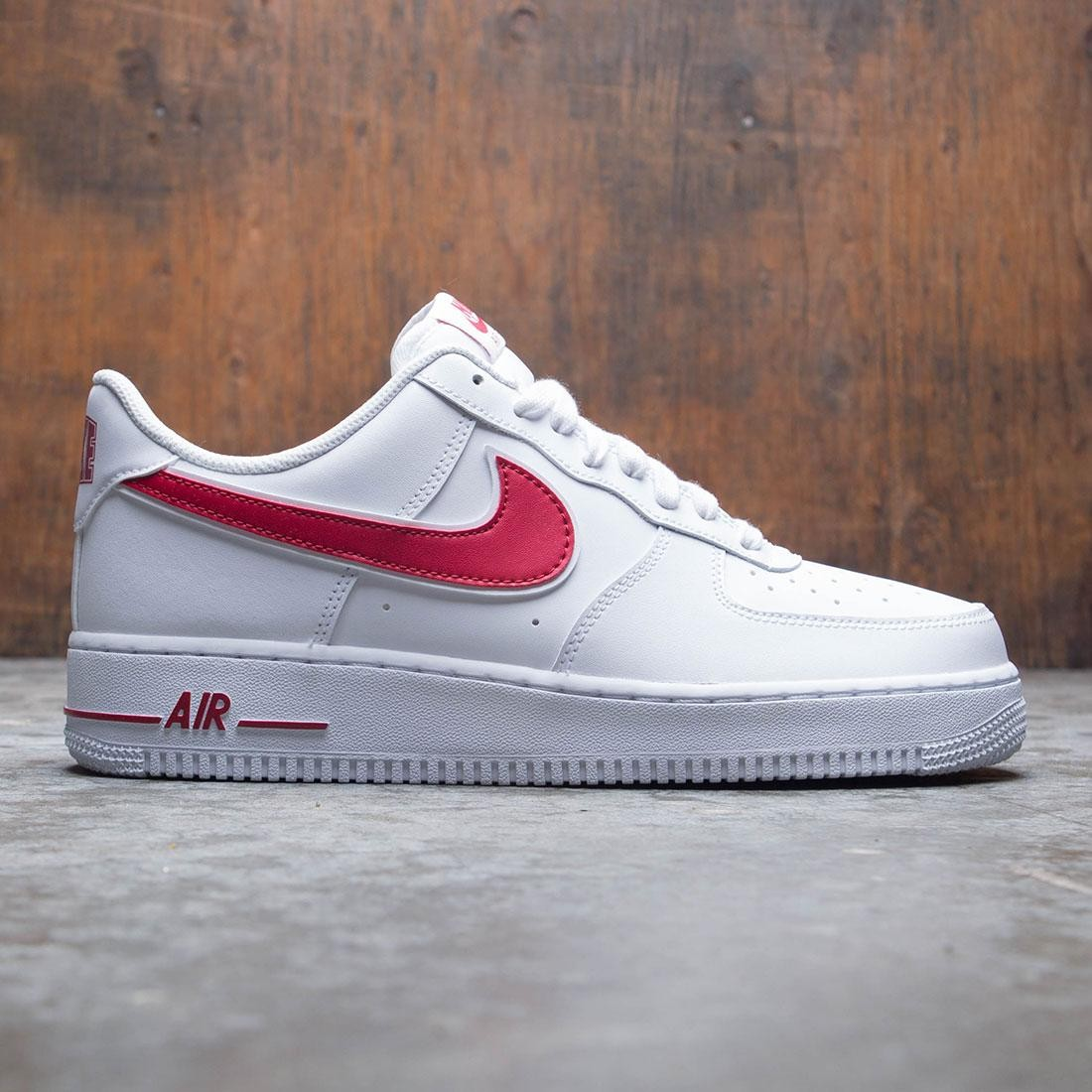 reputable site 472be 7394c nike men air force 1  07 3 white gym red