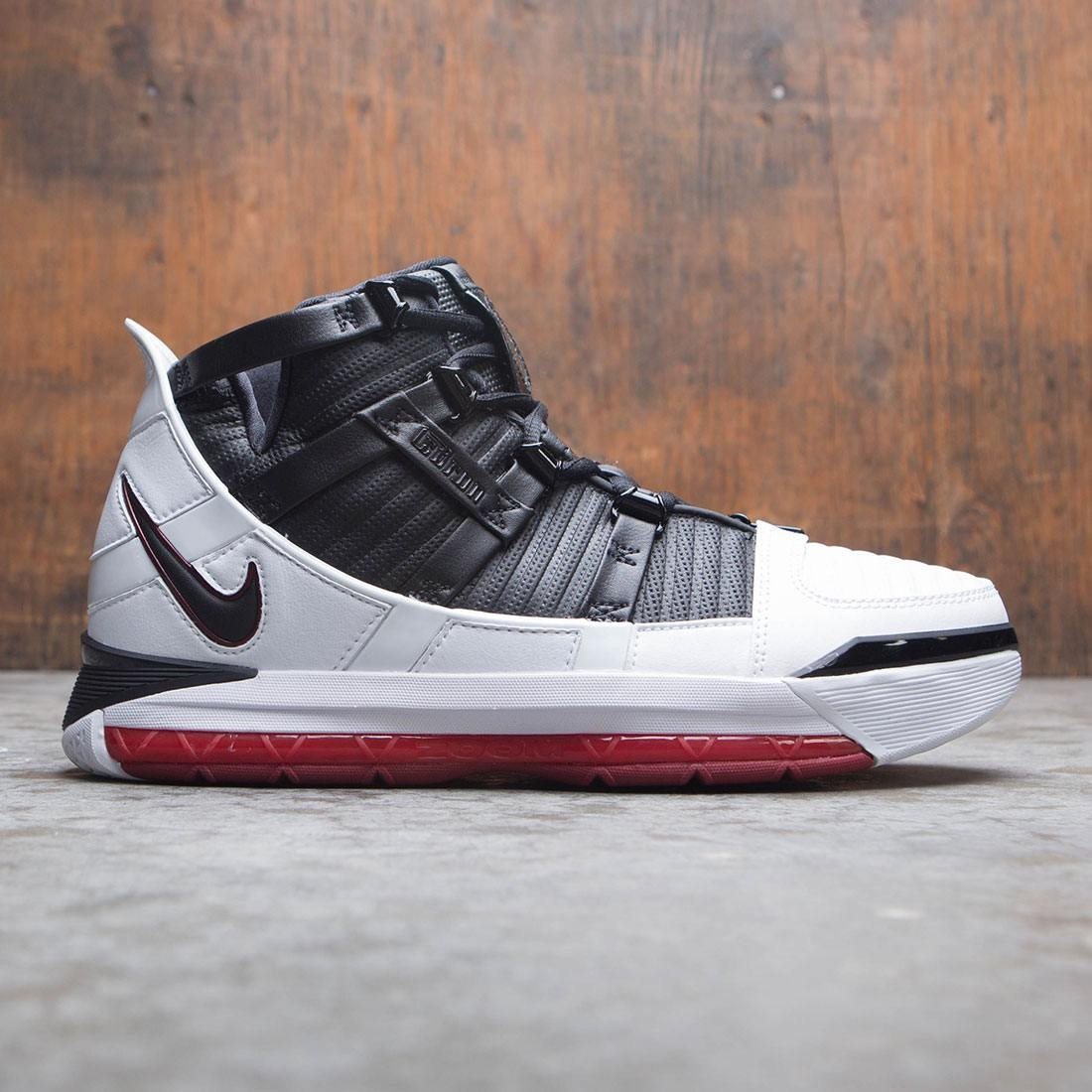 Nike Men Zoom Lebron 3 Qs (white / black-varsity crimson)