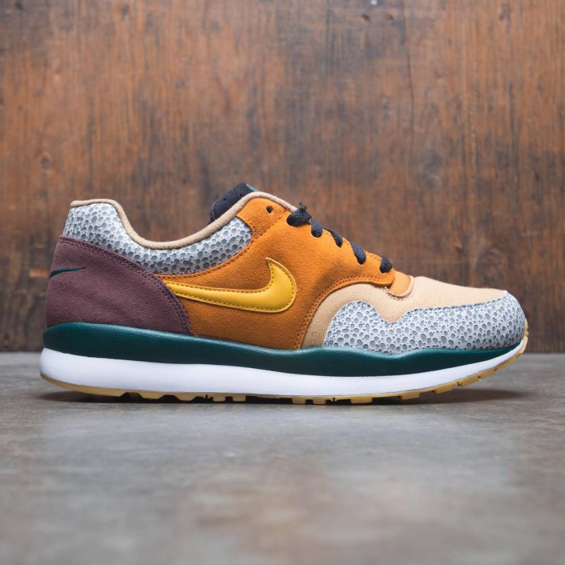 Nike Men Air Safari Se (monarch / yellow ochre-flax-mahogany mink)
