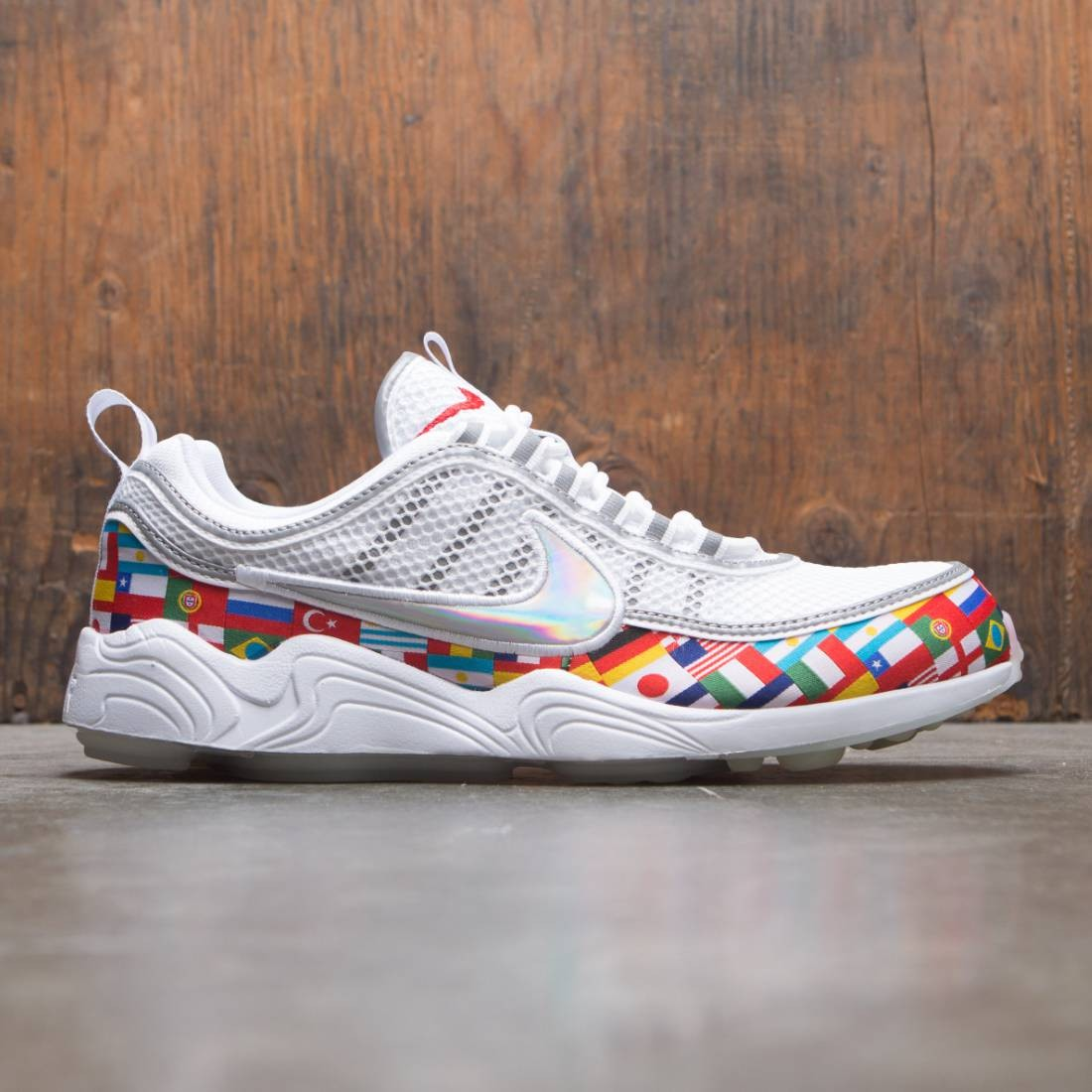 ... closeout nike men air zoom spiridon 16 nic white multi color 997ac 0fb75 1c388b752