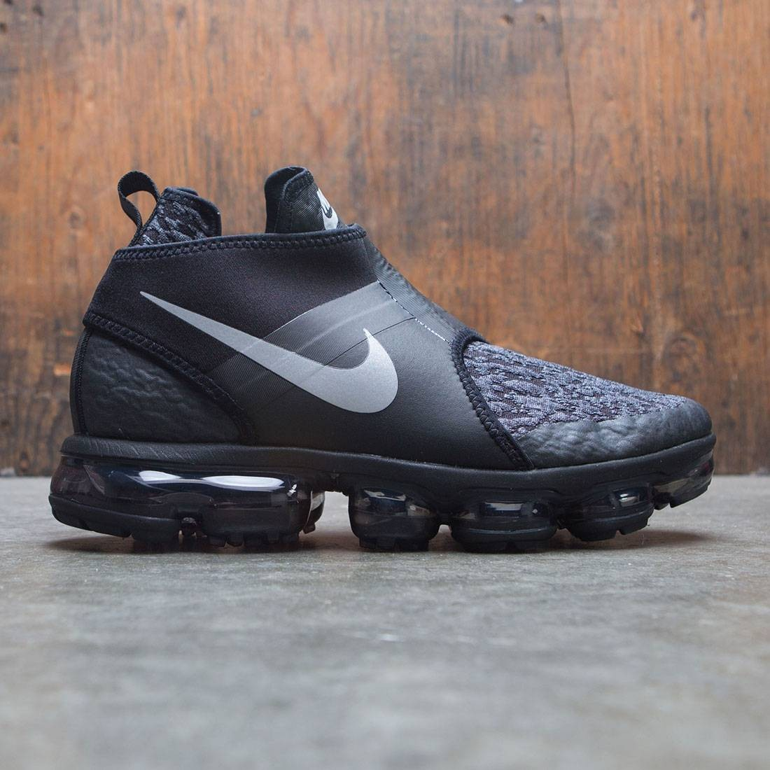 Nike Men Air Vapormax Chukka Slip (black / reflect silver-anthracite)