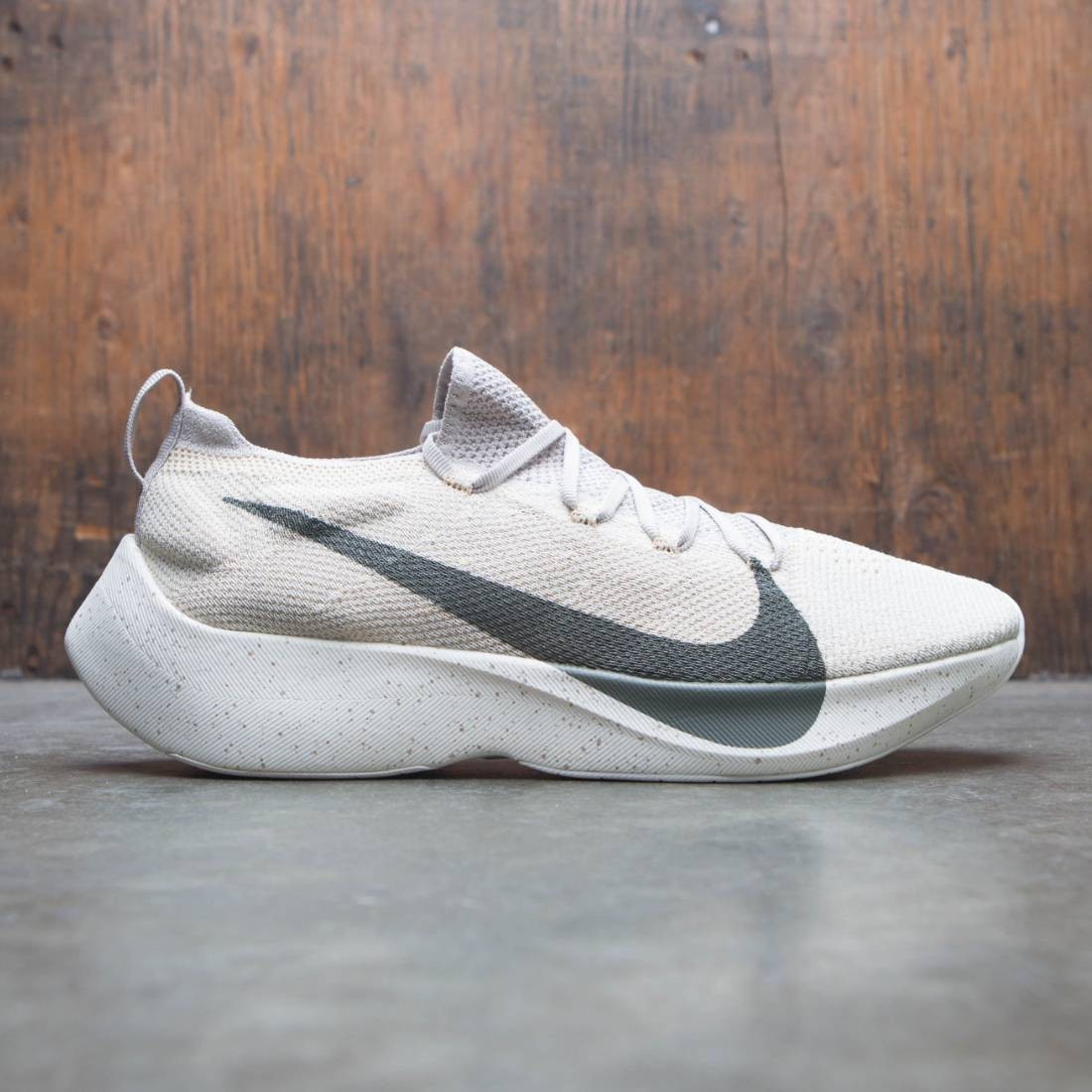 9a02be7327cc nike men vapor street flyknit string river rock light cream sail