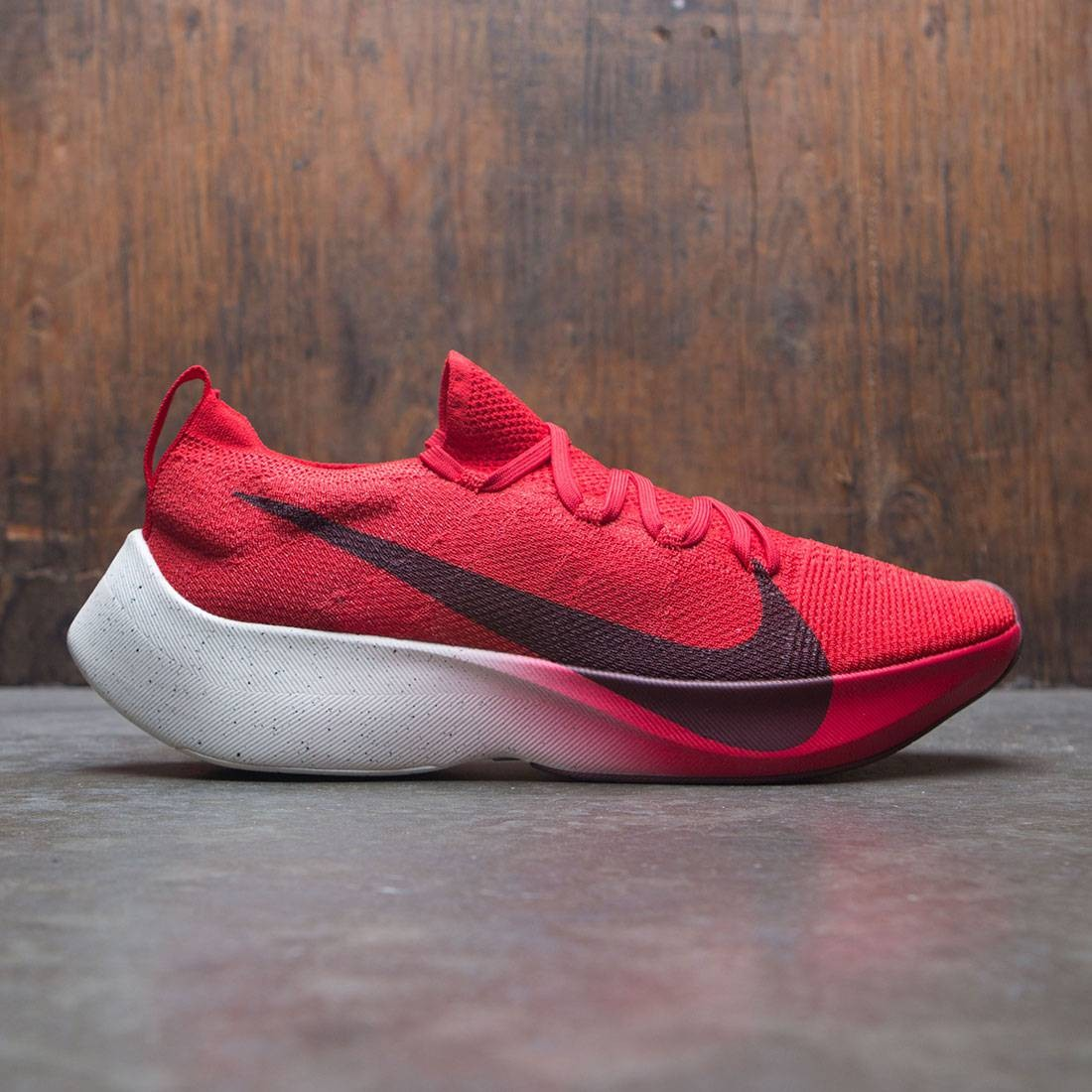 2685c6a4374 nike men vapor street flyknit university red dark team red sail black