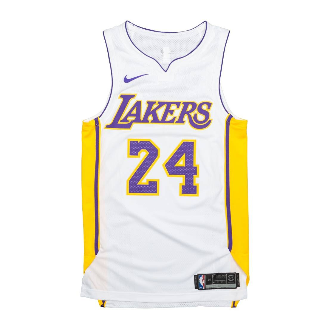 Nike Men Kobe Bryant Statement Edition Authentic Jersey (Los Angeles Lakers) (white)