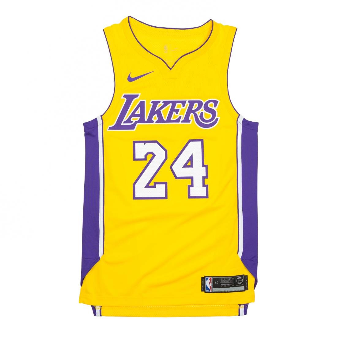 Nike Men Kobe Bryant Association Edition Authentic Jersey (Los Angeles Lakers) (yellow / amarillo)
