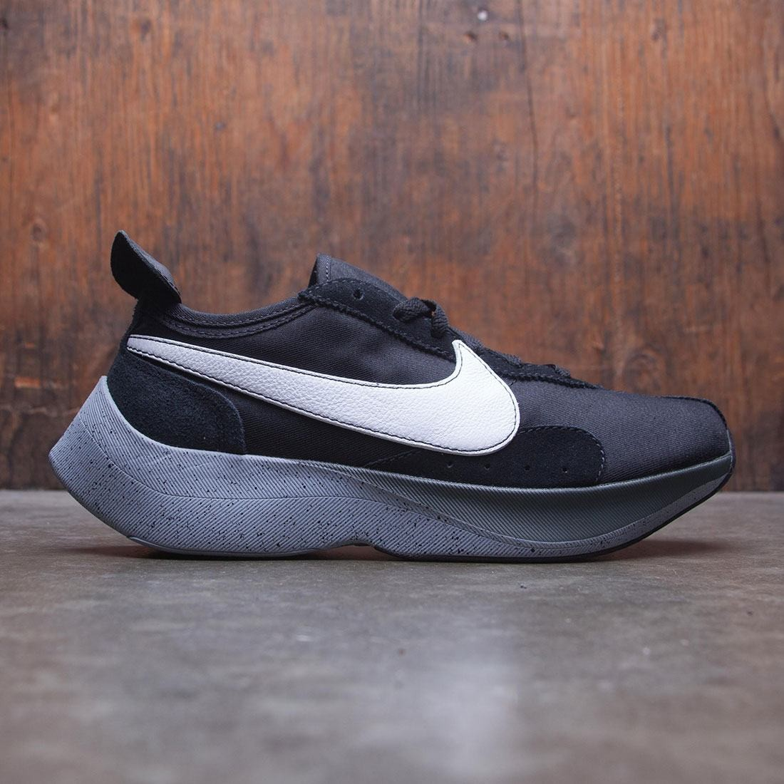 new product 162c9 44f91 nike men moon racer black white wolf grey dark grey