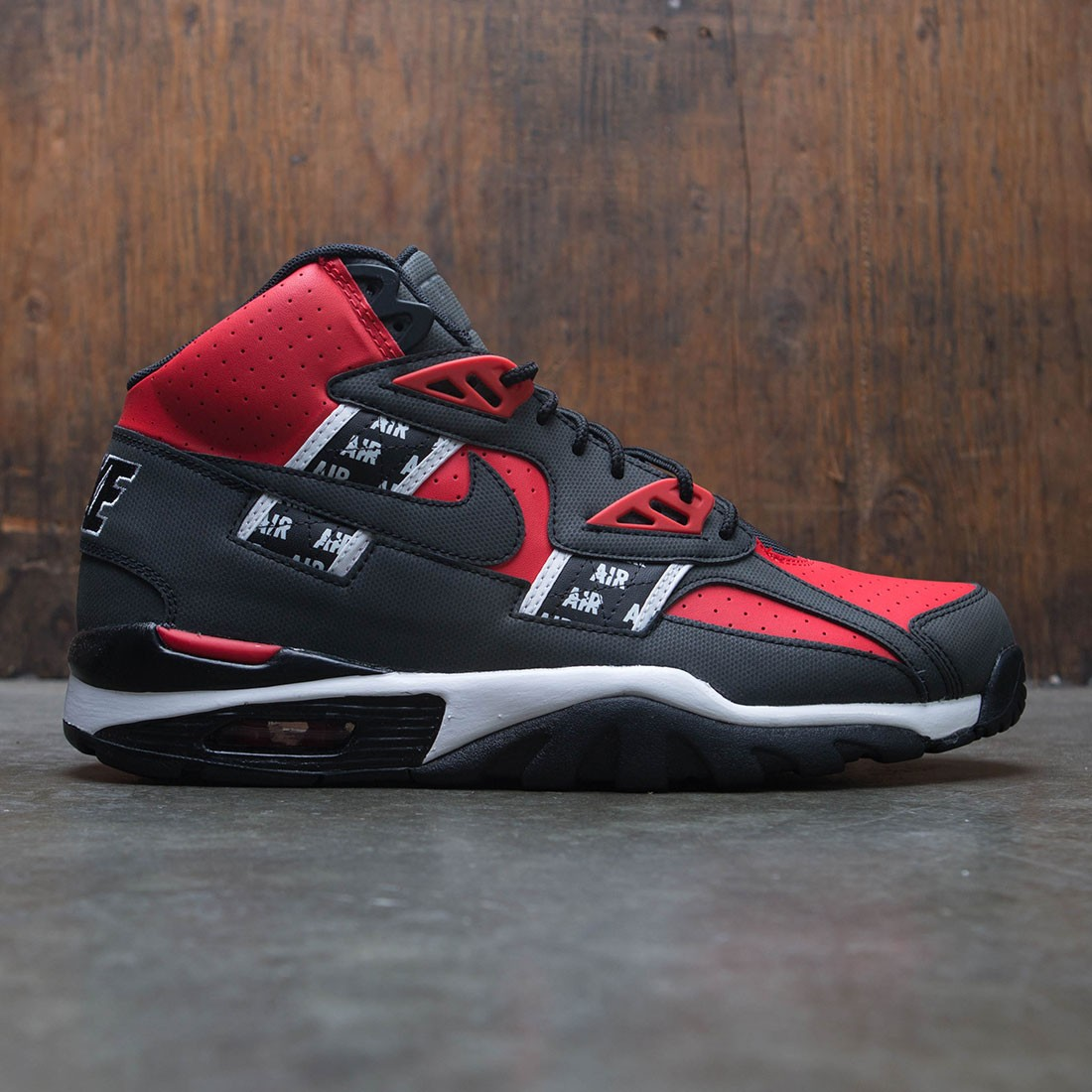 timeless design 30aed c7c29 nike men air trainer sc high soa speed red black white
