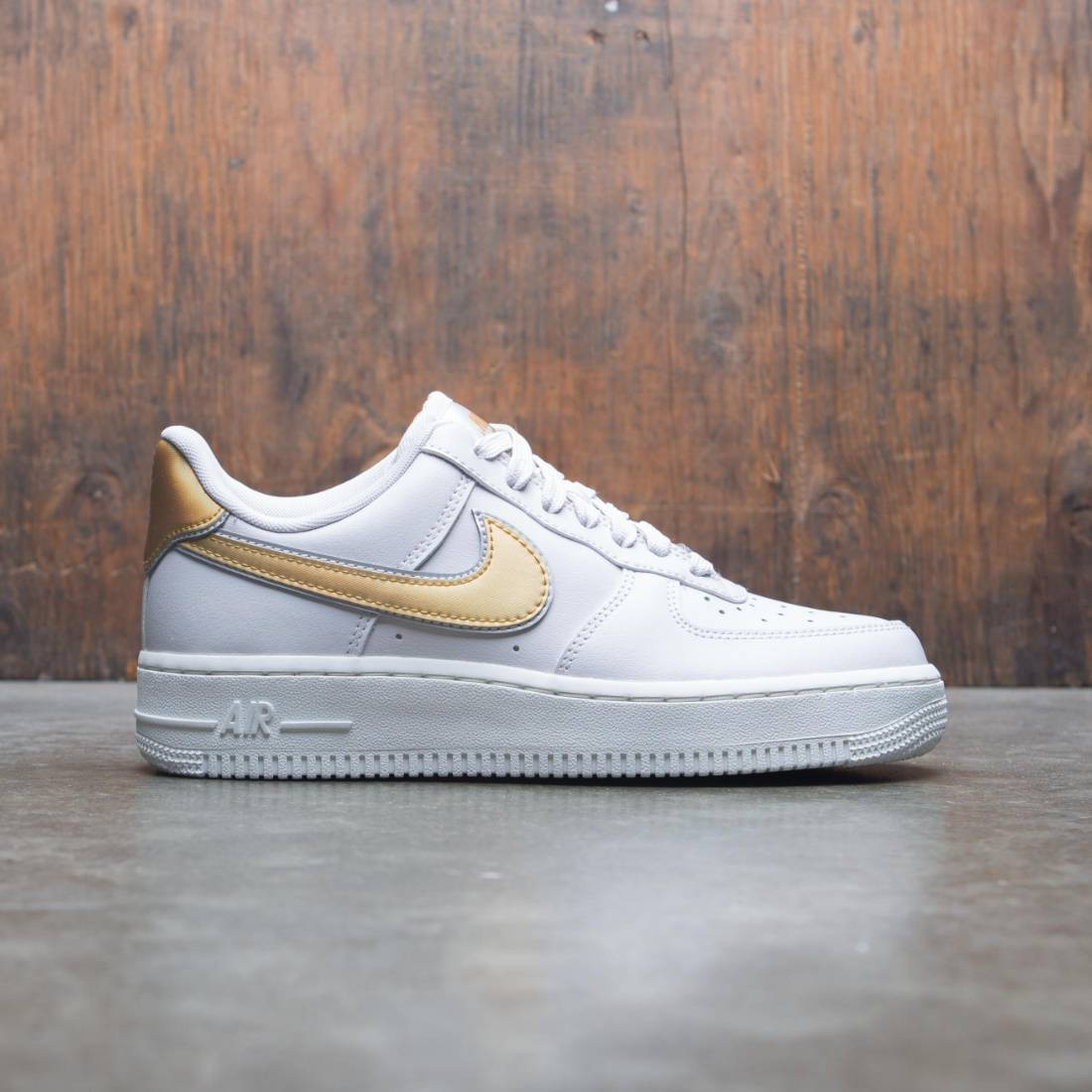 Nike Women Air Force 1 '07 Metallic (vast grey / metallic gold-summit white)