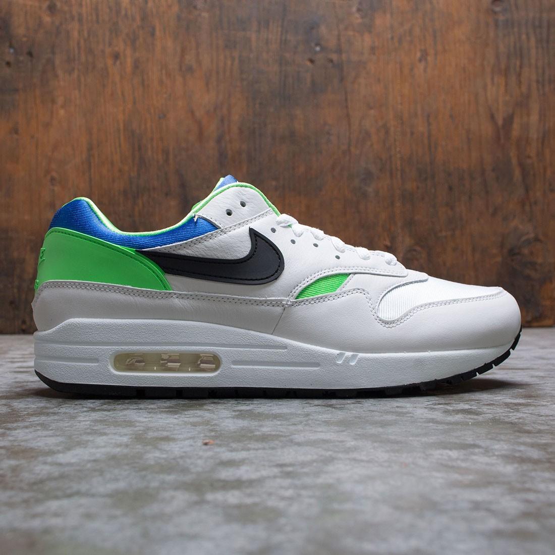 Nike Men Air Max 1 Dna Ch. 1 (white / black-royal blue-scream green)