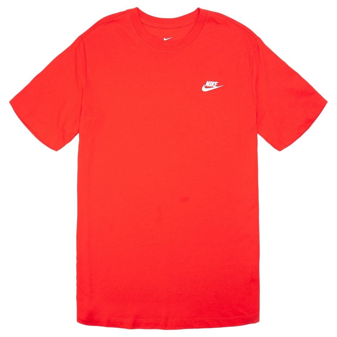 Nike Men Sportswear Club Tee (university red / white)