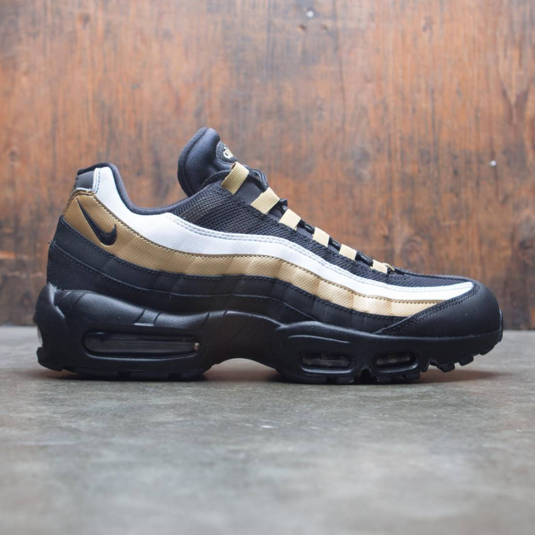 hot sale online 08d0a ab0d1 Nike Men Air Max 95 Og (black / black-metallic gold-white)