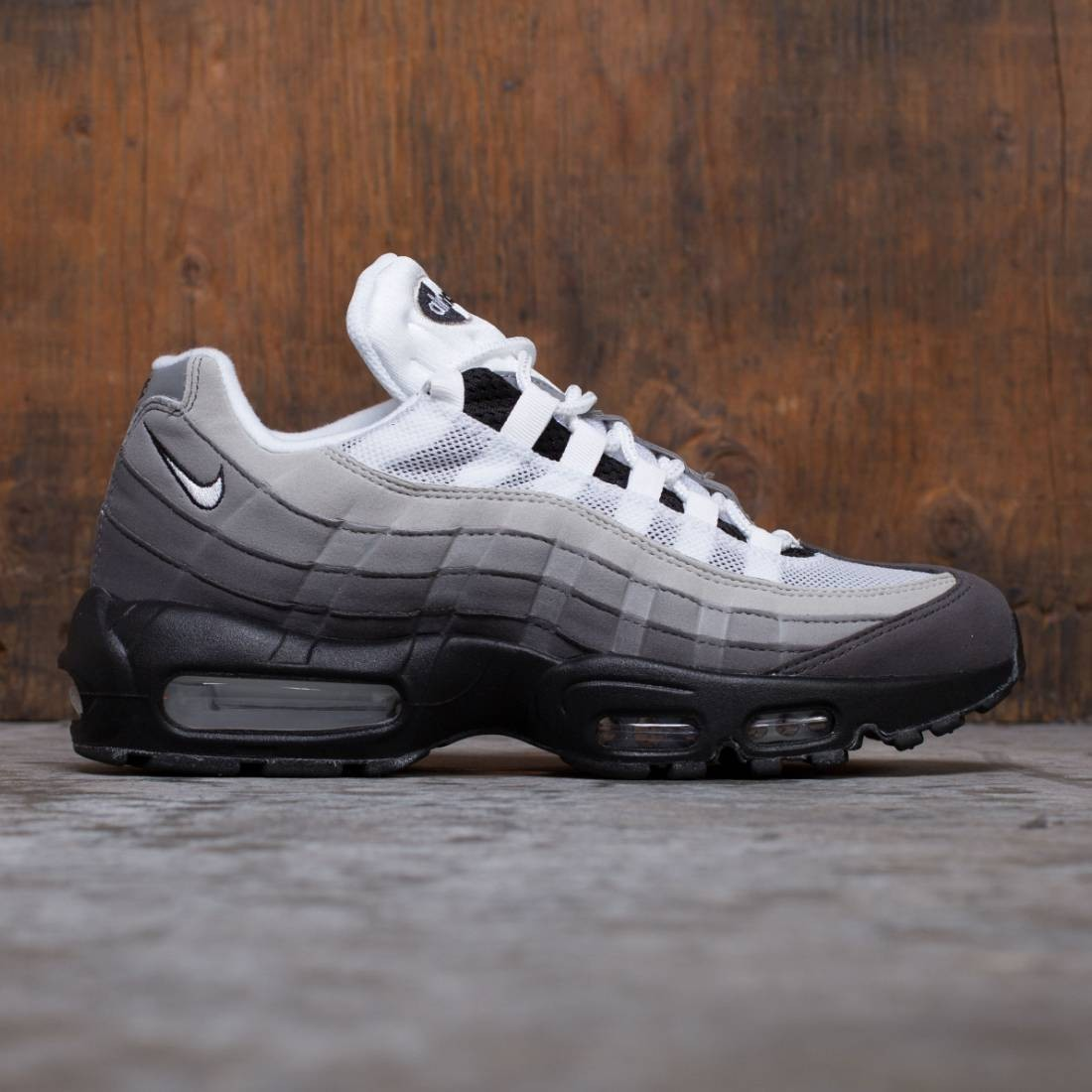 257db216b845 nike men air max 95 og black white granite dust