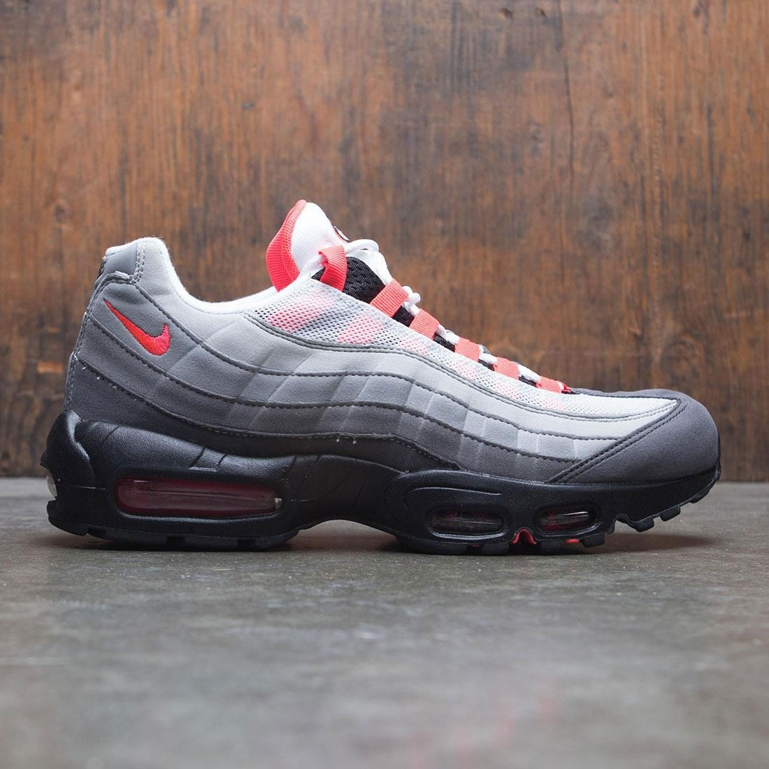 low priced 78dac eefa0 nike men air max 95 og white solar red granite dust