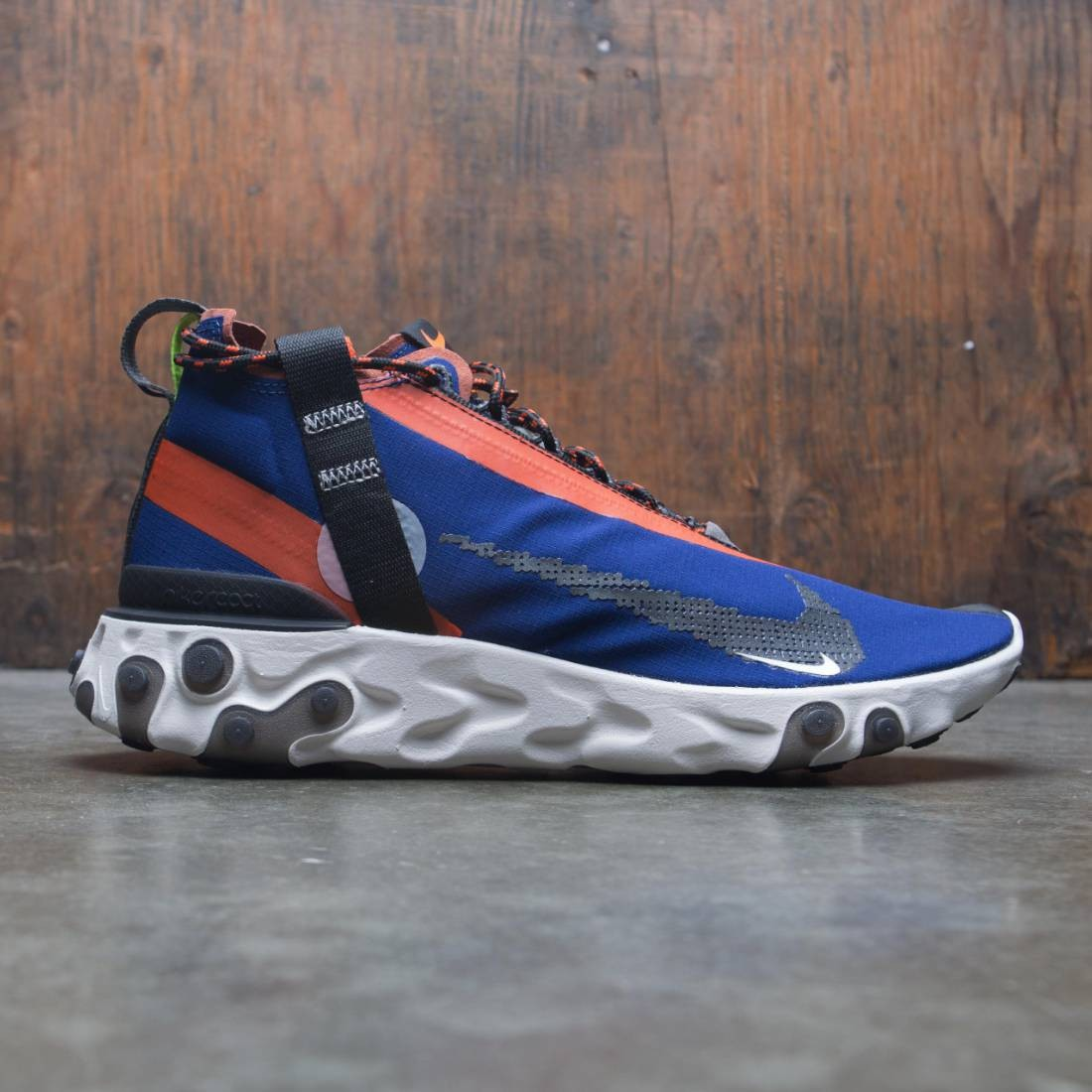 Nike Men React Mid Wr Ispa (blue void / black-team orange-phantom)