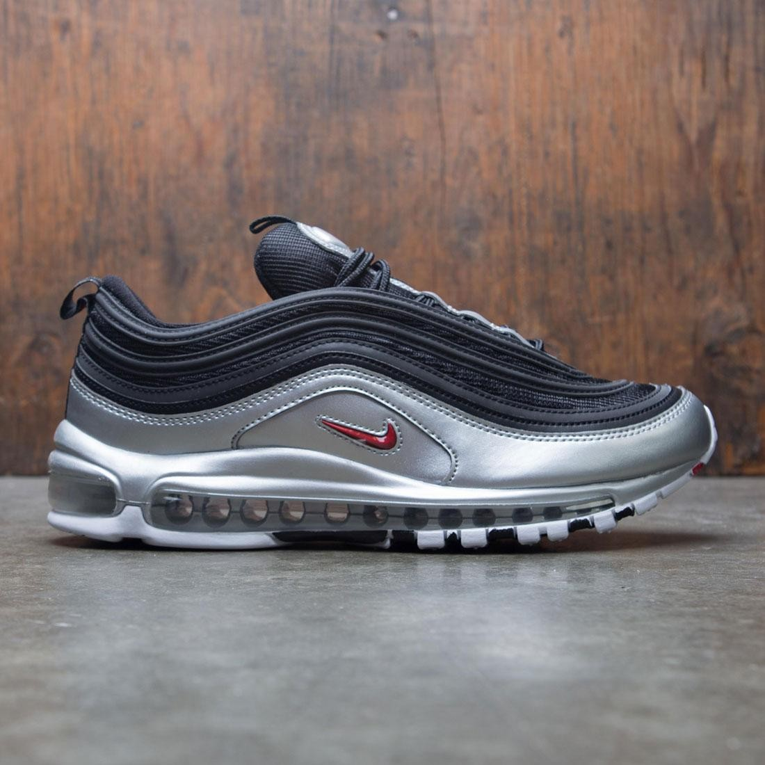 on sale edc88 0c743 Nike Men Air Max 97 Qs (black / varsity red-metallic silver-white)