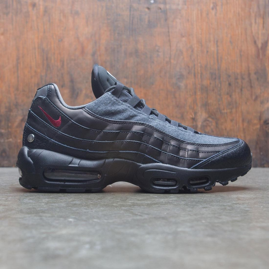 new style 09157 7ba62 nike men air max 95 nrg black team red anthracite