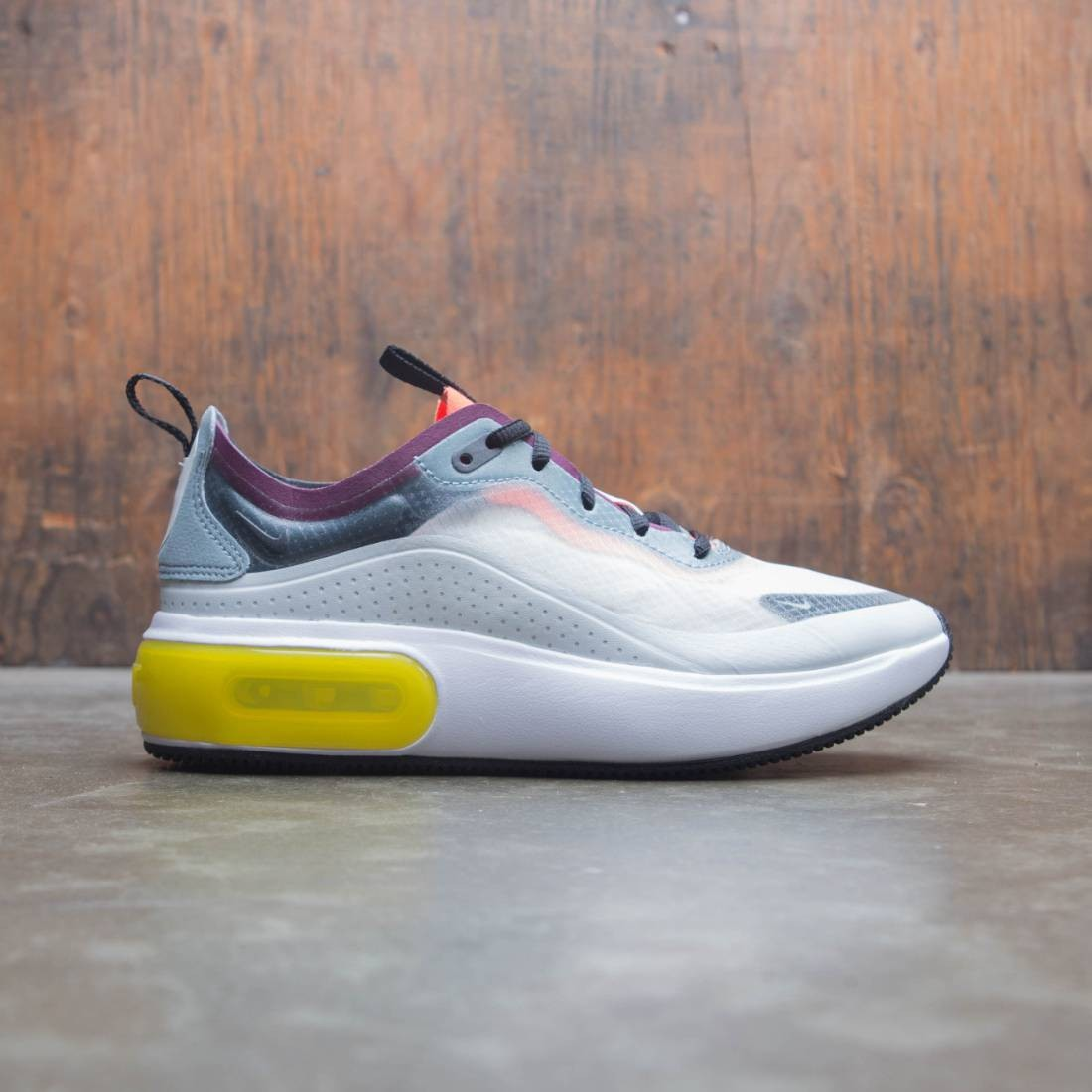 3292afdb00b nike women w nike air max dia se qs aviator grey black off white deep jungle