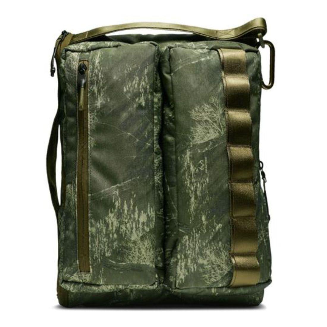 Nike Men Real Tree Profile Printed Bag (olive canvas / olive canvas / black)