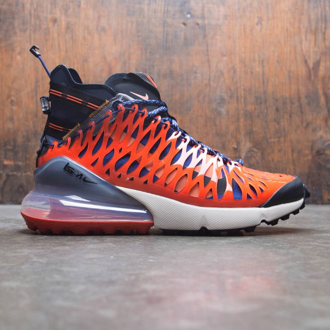 Nike Men Air Max 270 Ispa (blue void / black-terra orange-oatmeal)