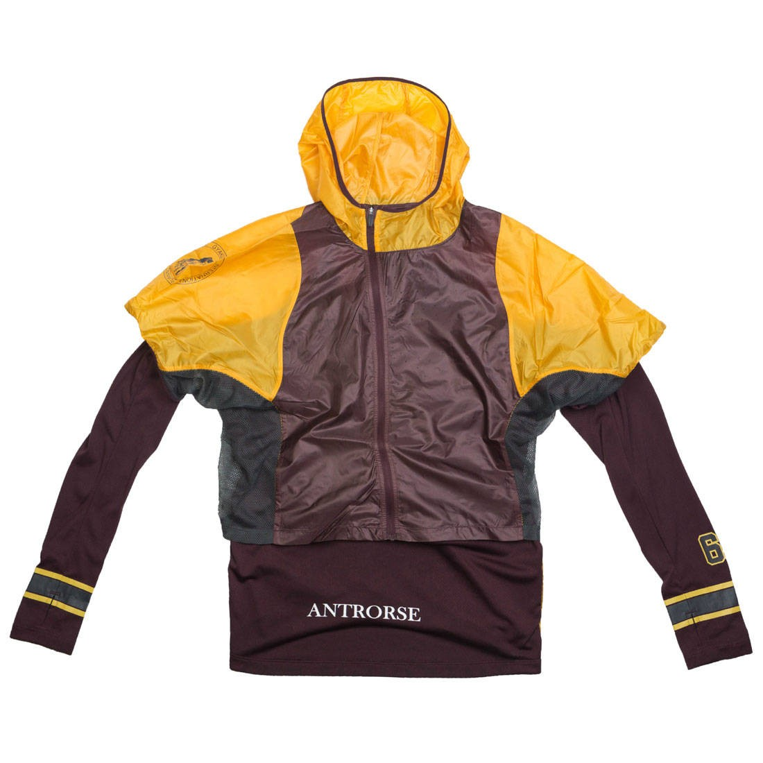 Nike Women W Nrg Gyakusou Transform Jacket (gold dart / deep burgundy / pale ivory)