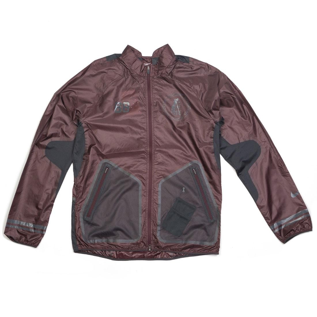 Nike Men U Nrg Gyakusou Lightweight Jacket (deep burgundy / off noir / dk smoke grey)