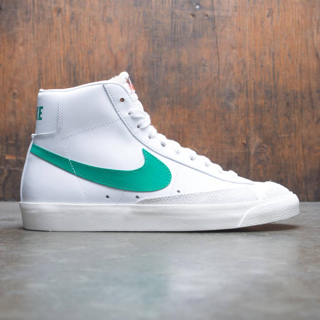 sale uk separation shoes aliexpress Nike Men Blazer Mid '77 Vintage (lucid green / sail-white)