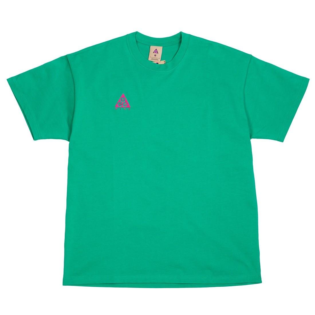 Nike Men Nrg Acg Logo Tee (lucid green / sport fuchsia)