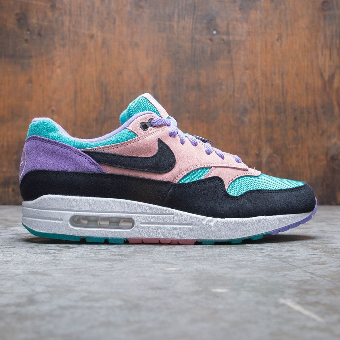 premium selection 95423 d0593 nike men air max 1 nd space purple black bleached coral