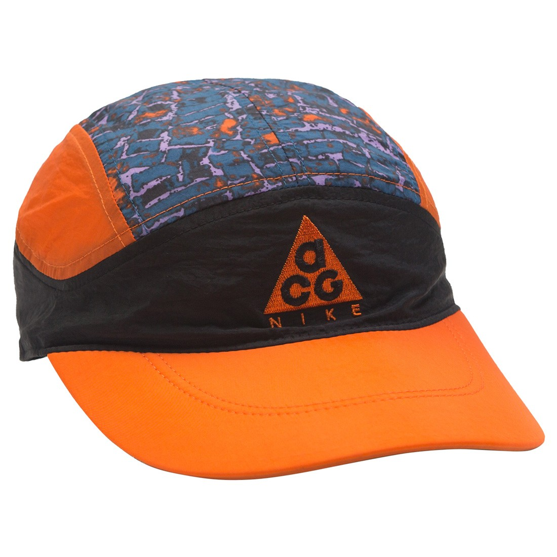 Nike Men Acg Tailwind Adjustable Hat (black / safety orange / safety orange)