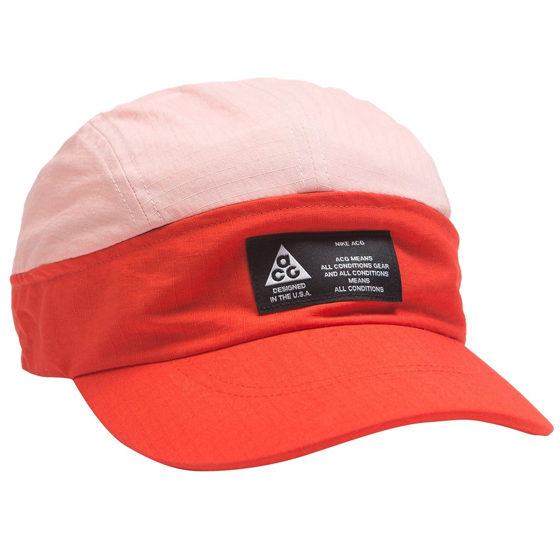 a231b7c89a4e nike men nrg acg tailwind visor cap habanero red bleached coral