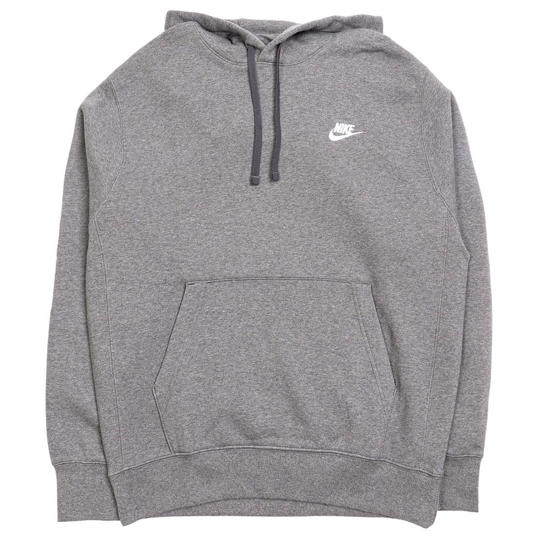 Nike Men Sportswear Club Fleece Hoody (charcoal heathr / anthracite / white)