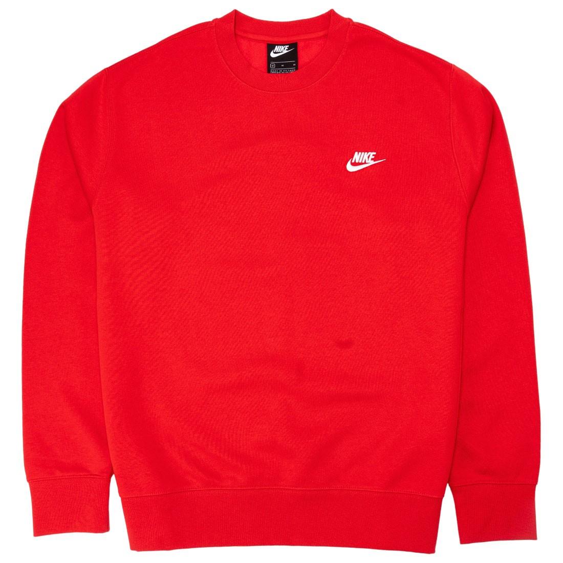 Nike Men Sportswear Club Fleece (university red / white)