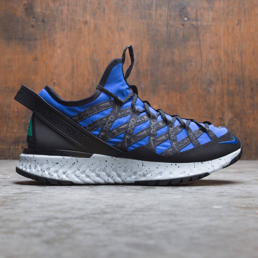 Nike Men Acg React Terra Gobe (hyper royal / lucid green-black)
