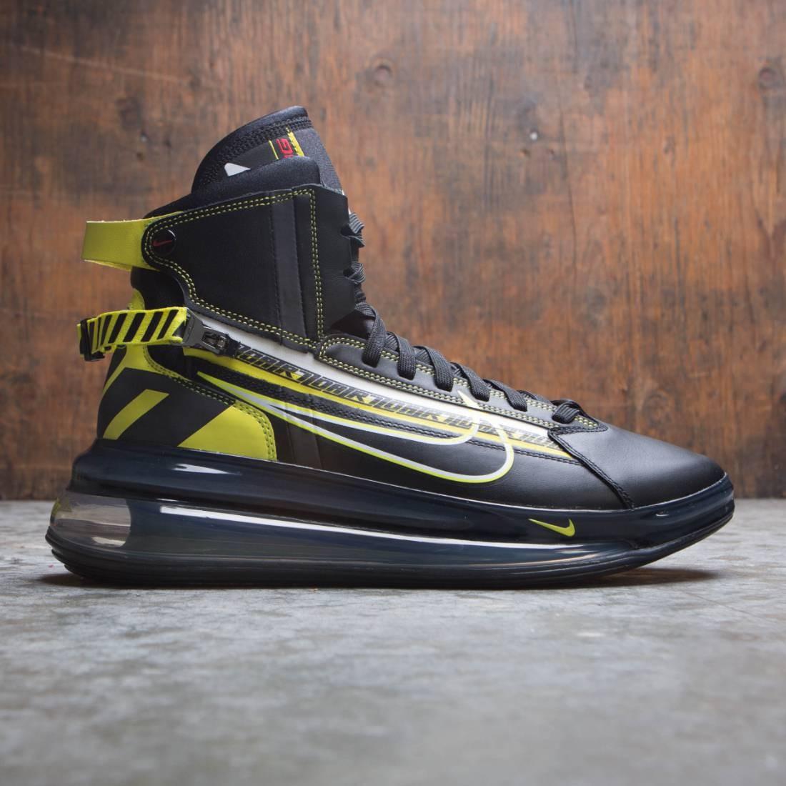 sneakers for cheap d71b3 8203f nike men air max 720 satrn qs black dynamic yellow university red