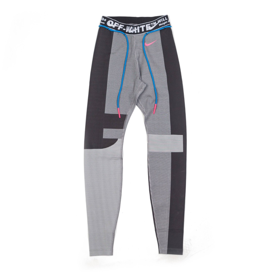 Nike Women X Off-White Easy Running Tights (oil grey / vast grey)