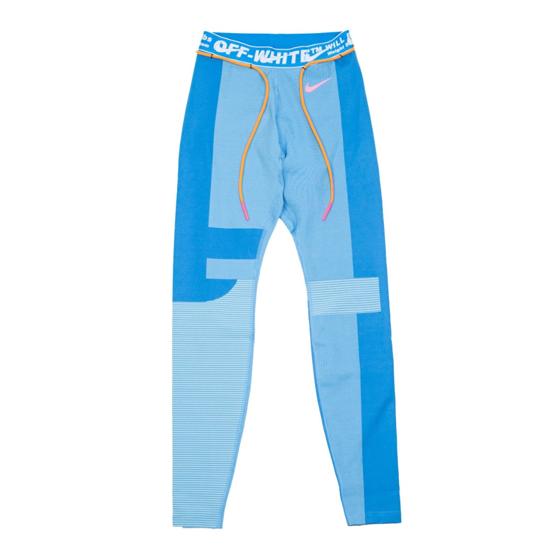 Nike Women X Off-White Easy Running Tights (photo blue / blue gaze)