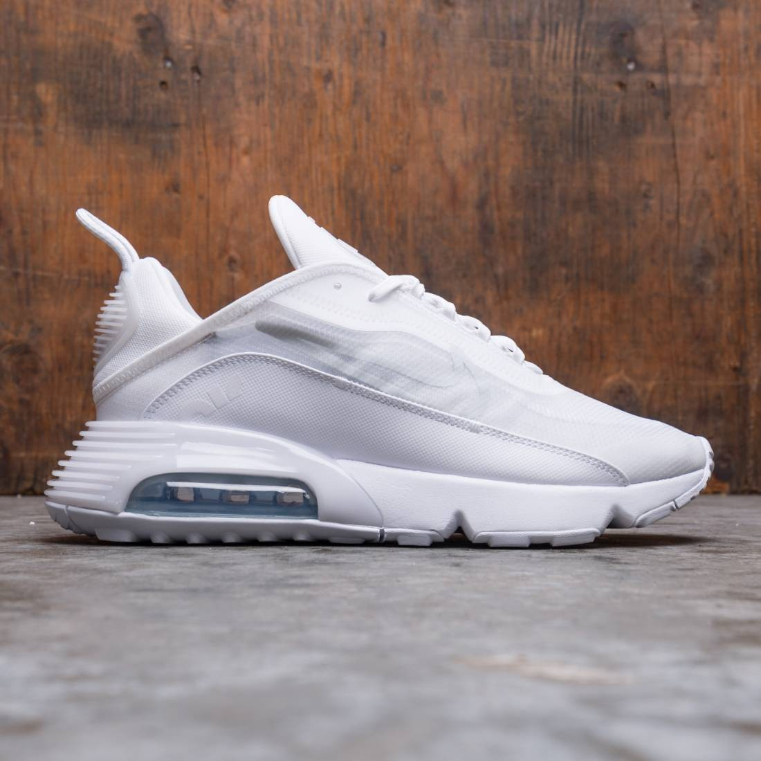 Nike Men Air Max 2090 (white / white-wolf grey-pure platinum)