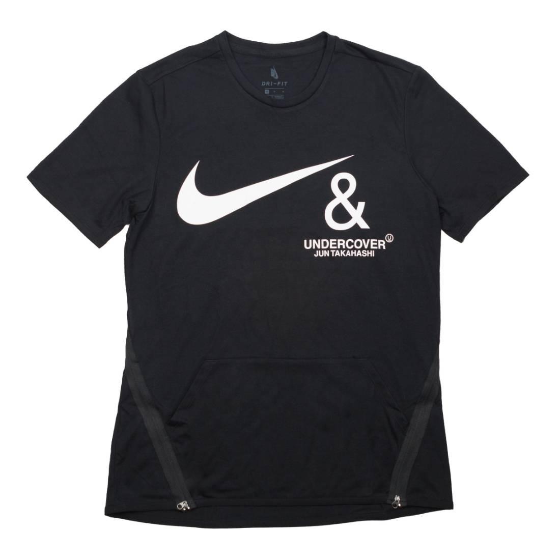 Nike Men M Nrg Tc Top Ss Pocket Tee (black / white)