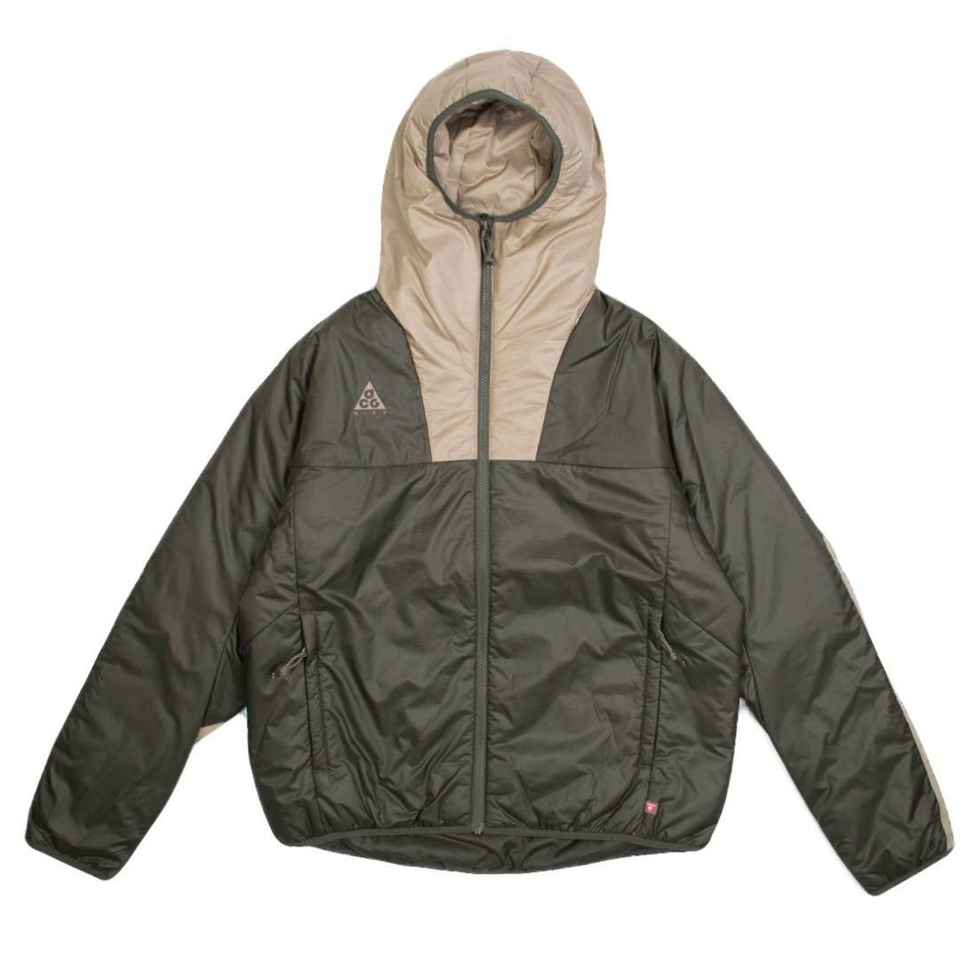 Nike Men Acg Primaloft Hooded Jacket (cargo khaki / khaki / string)