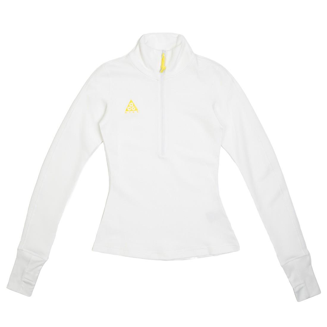 Nike Women Nrg Acg Thermal Long Sleeves Tee (summit white / opti yellow)
