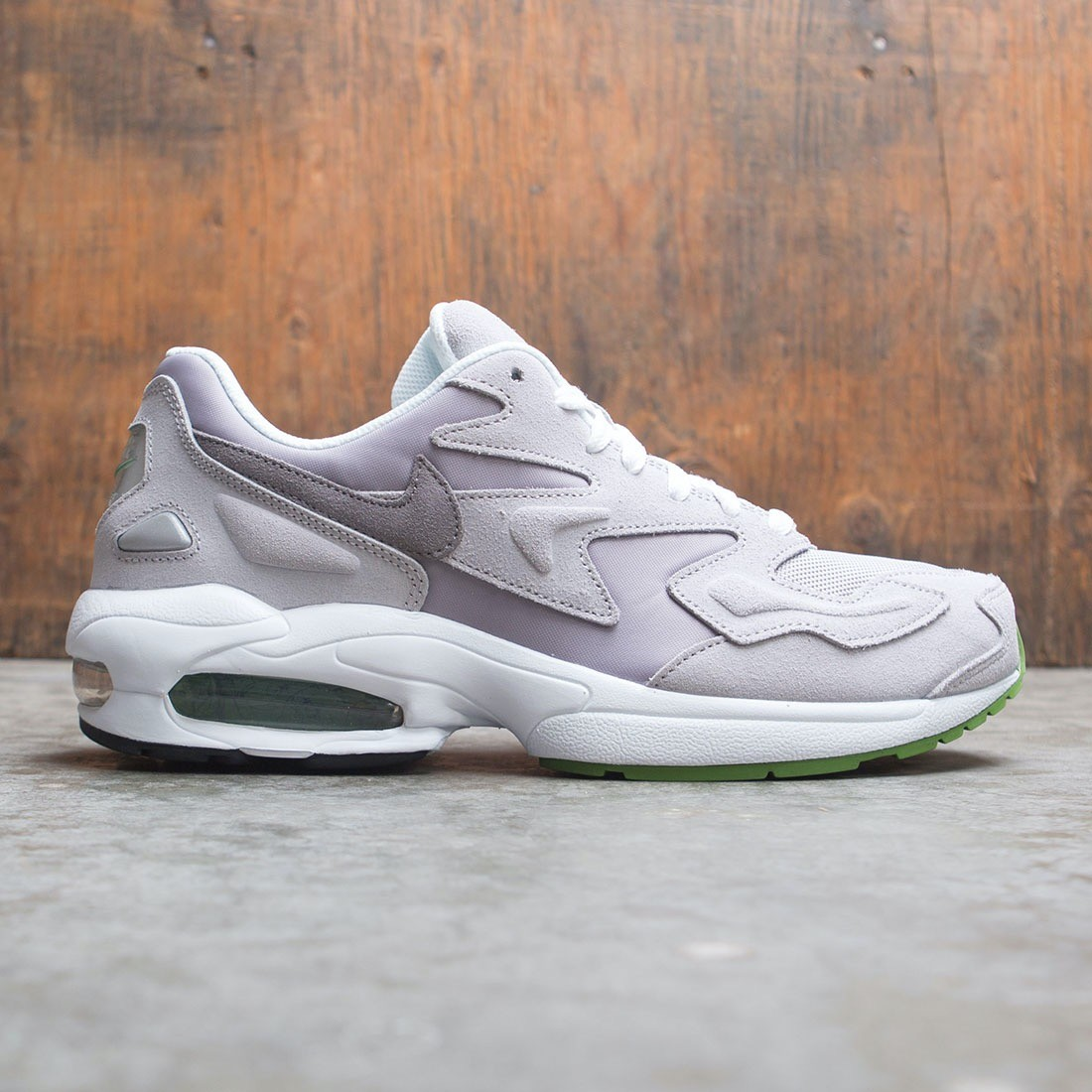 Largo Mecánica invernadero  nike men air max2 light lx atmosphere grey gunsmoke chlorophyll