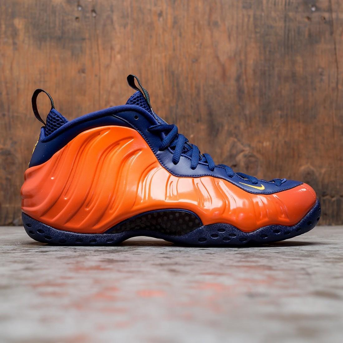 Nike Men Air Foamposite 1 (blue void / university gold-rugged orange)