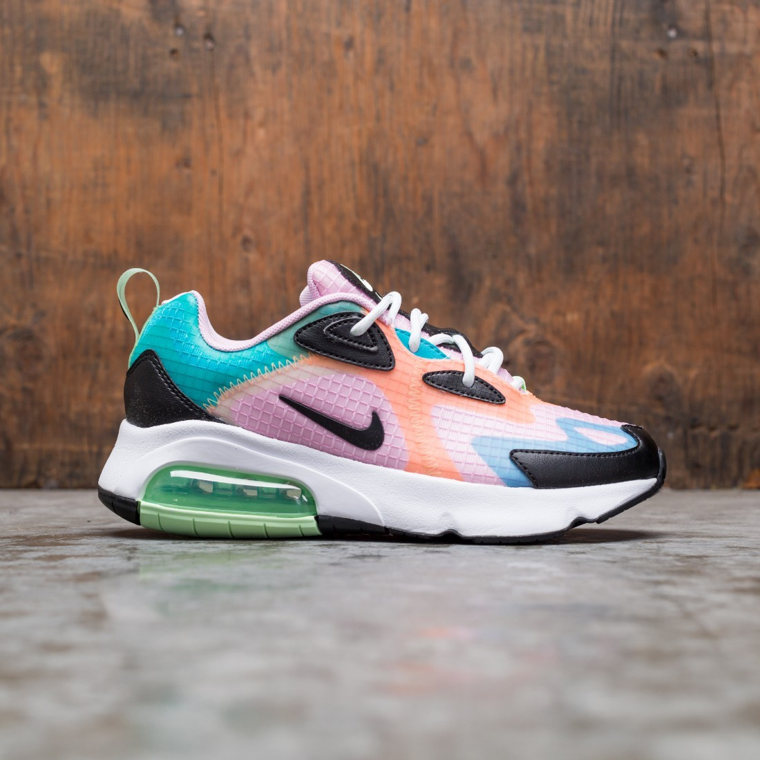 Nike Women Air Max 200 Se (lt arctic pink / black-orange pulse-white)
