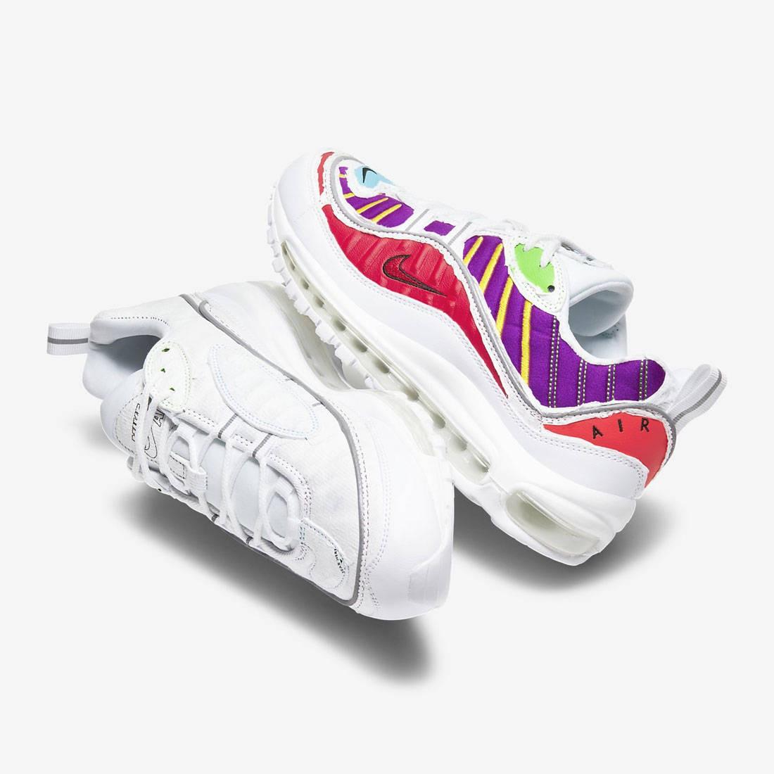 Nike Women Air Max 98 Lx (white / white-multi-color)