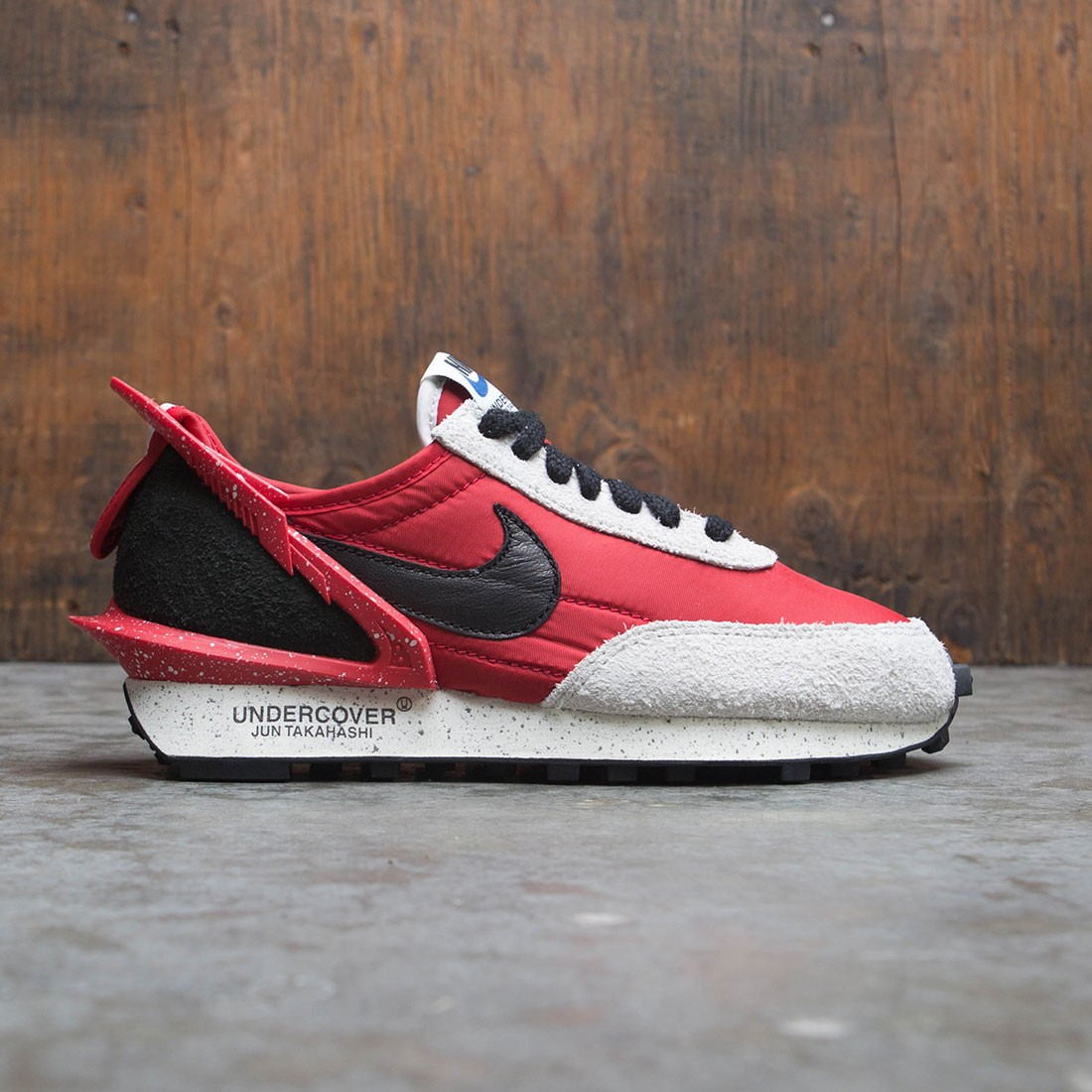 Nike X Undercover Women Daybreak (university red / black-spruce aura)