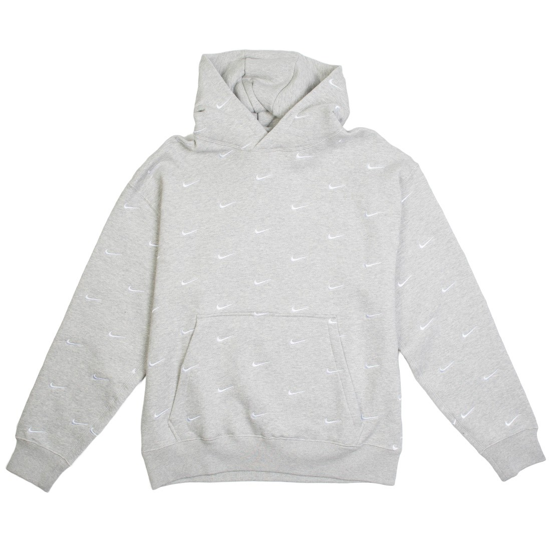 Nike Men Nrg Swoosh Logo Hoodie (grey heather)