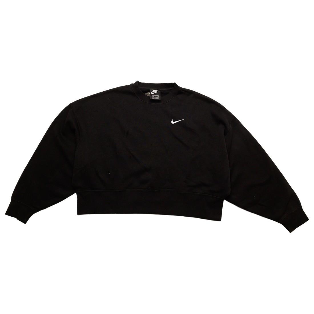 Nike Women Sportswear Essentials Crewneck (black / white)