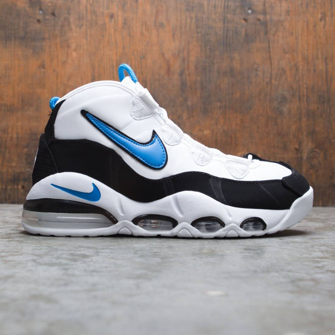 Nike Men Air Max Uptempo 95 White Photo Blue Black