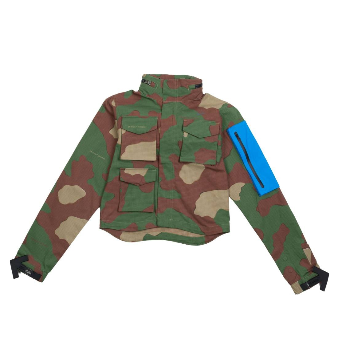 Nike X Off-White Women Nrg As #27 Aop 2 Jacket (palm green)