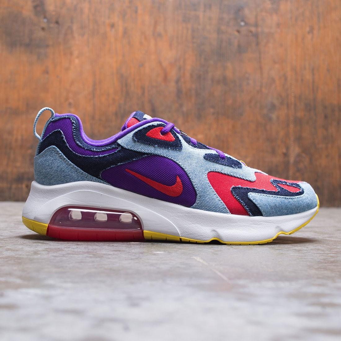 Nike Men Air Max 200 Sp (university red voltage purple)